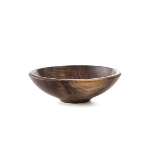 $220.00 ANDREW PEARCE WOOD CHAMPLAIN BOWL — BLACK WALNUT