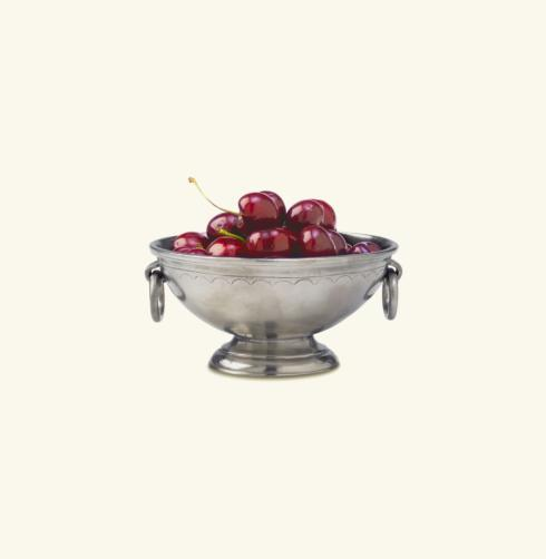 $160.00 Deep Footed Bowl W/Rings