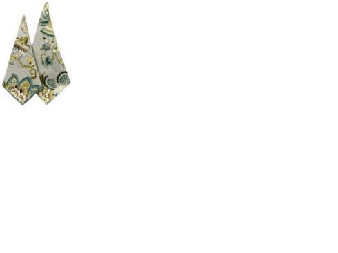 Karen Lee Ballard   Klb Carolina Vine Grey/Seafoam Floral $12.00