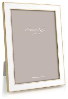 $62.00 Addison Ross 5x7 White Enamel Frame