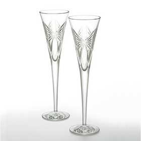 $135.00 Waterford-WISHES ANNIVERSARY FLUTE PAIR