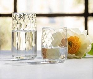 $22.00 RUBY TUMBLER GLASS