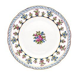 """$125.00 Chateaubriand Blue Salad Plate 8.5"""""""