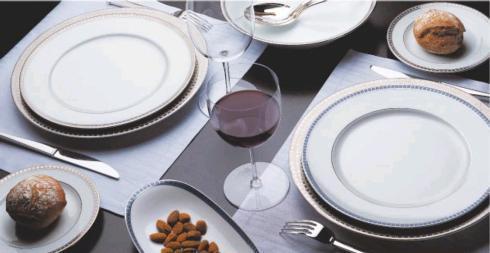 $84.00 ATHENA PLATINUM DINNER PLATE