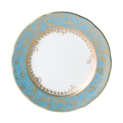 """$137.00 Eden Turquoise Bread & Butter Plate6.5"""""""