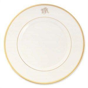 $59.00 Signature White with Gold & Monogram