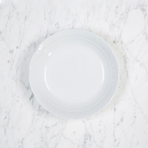 """$28.00 Weave White 7.5"""" Cereal Bowl"""