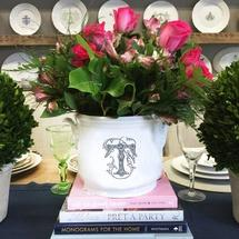 $185.00 Champagne Bucket With Monogram