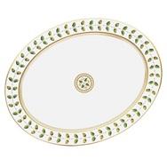 "$1,460.00 Constance 17"" Oval Platter"