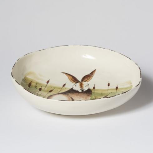 HARE SHALLOW SERVING BOWL