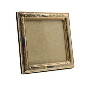 $180.00 Nostalgia 5 X 5 Wood Back Tarnish Resistant Frame