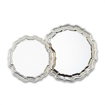 """Chippendale 14"""" Tray Silverplate"""