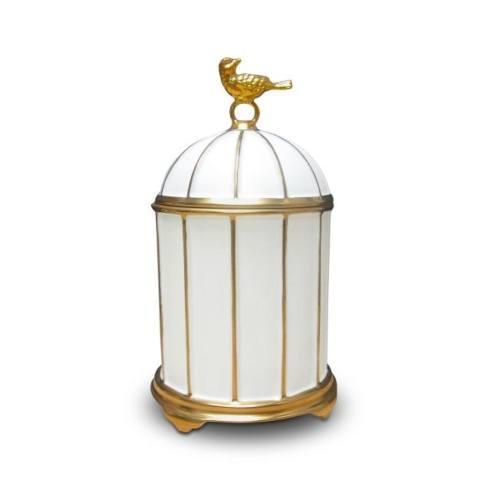 $150.00 Birdcage Limoges Porcelain Candle
