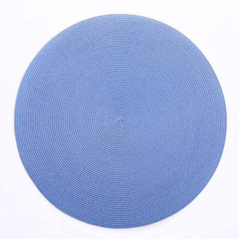 "$28.00 16"" Round Scallop Placemat (Shown for color not shape)"