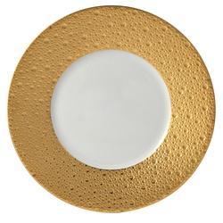 "$194.00 Ecume Gold Salad Plate8.3"""