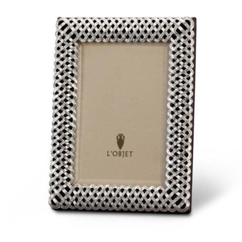$295.00 Platinum Braid Frame