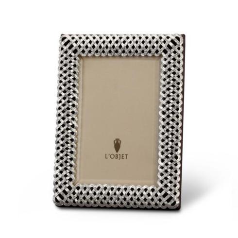 $210.00 Platinum Braid Frame