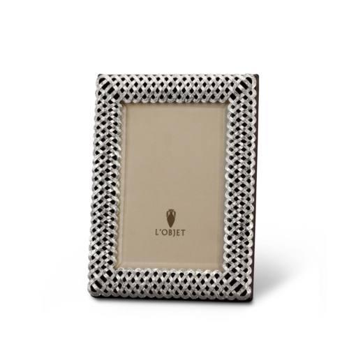 $185.00 Platinum Braid Frame