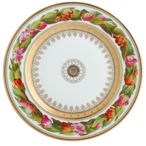$304.00 Botanique Tulip Dinner Plate