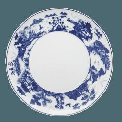 $50.00 Blue Shou Dinner Plate with Pagoda