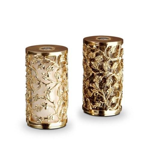 $225.00 Lorel Gold Salt & Pepper Shakers
