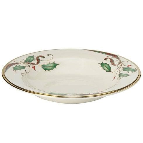 Lenox   Holiday Nouveau Gold Pasta Bowl $62.00