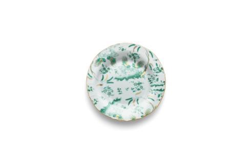 $120.00 Vecchio Ginori - Oro Di Doccia Giada ~ Salad/Dessert Plate