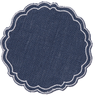$23.00 Linen Coated Placemat -