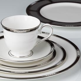 Lenox  Hancock Platinum White 5 Piece Place Setting $140.00