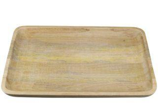 Natural Mango Wood Rectangle tray XL collection with 1 products