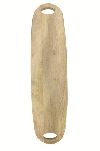 Be Home Décor   Natural Mango Wood Long Oval Board w/Handles $68.00