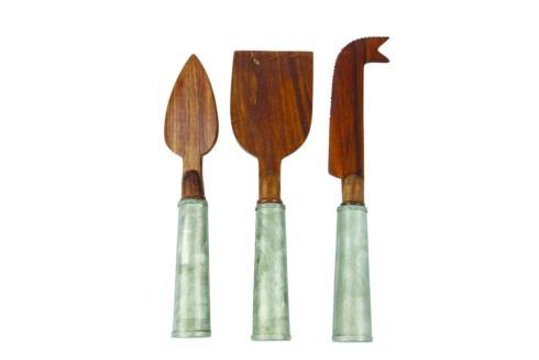 Gl and Wood Cheese Set/3 collection with 1 products