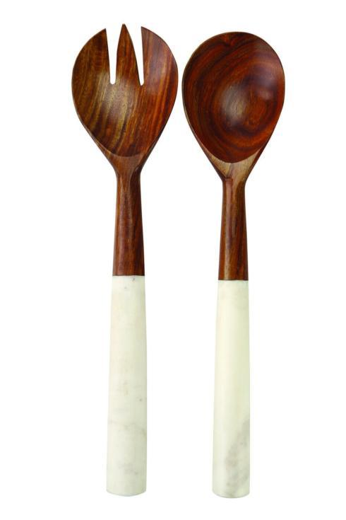 Dark Wood & Marble Servers - set/2 collection with 1 products