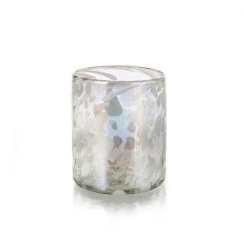 Worldly Goods   Speckled Tumbler - Pearl $19.00