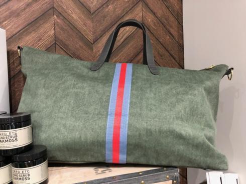 $180.00 Canvas Bags, Weekender, Sage Green