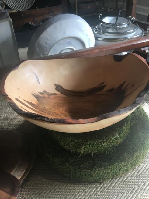 """Peterman's Boards & Bowls   Ambrosia Maple Oval Bowl 15"""" $223.00"""