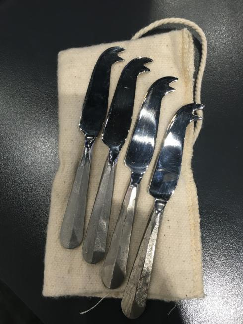 Classic Slate Stainless Mini Spreader Knives set/4 collection with 1 products