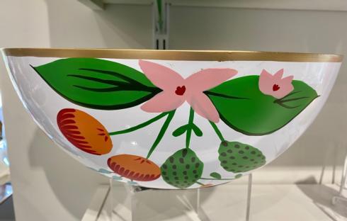 Social Memphis Exclusives   Jaye\'s Studio Floral Bowl $132.00