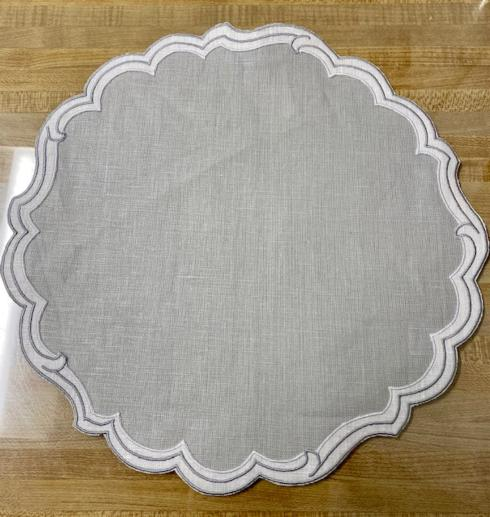 $32.00 Victoria Paper Smooth Pearl/White