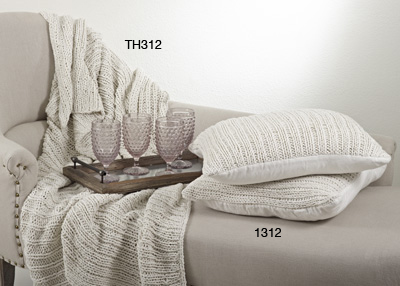 Knitted Throw collection with 1 products