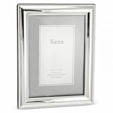 Siena 4x6 Silver Plate Frame collection with 1 products
