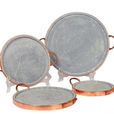 Brazillian Home Collection   Soapstone Extra Small Pizza tray $62.00