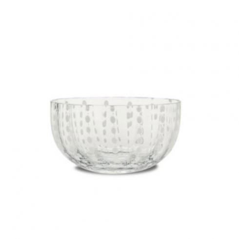 Zafferano  Perle Small Bowl Clear $25.00