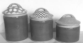 $432.00 3 Piece Canister Set