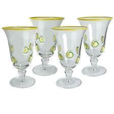$14.00 Lemon Footed Glasses