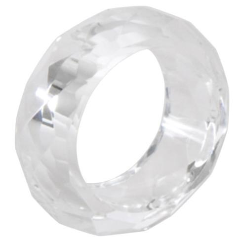 Saro Designs   Crystal Napkins Rings Round $10.00