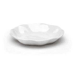"Q Squared   Ruffle Dinner Bowl 9.5"" $13.00"