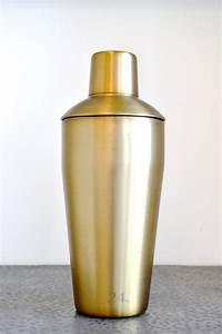 $52.00 Gold Cocktail Shaker