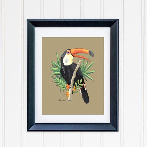 $40.00 11x14 Toucan Bird 1 Art Print