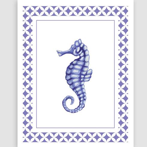 $30.00 8x10 Seahorse Art Print
